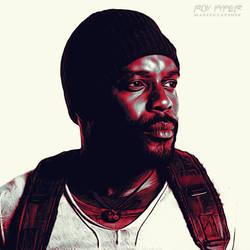 TWD: Tyreese Williams: Graphic Novel Edit by nerdboy69