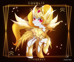 Ophiuchus Equalis - Goddess Cloth Rebirth by ZidaneMina