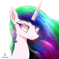 Celestia - Pony Quickie by ZidaneMina