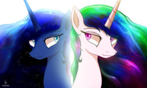 Two Best Sisters by ZidaneMina