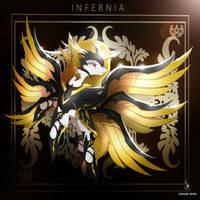 Emperatriz Infernia de Heldrasil by ZidaneMina