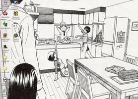 Yotsubato desktop by whoatheresara