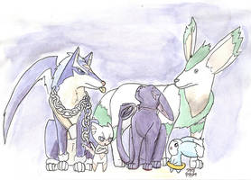 Tales of Critters by whoatheresara