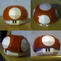 Super Mario Mushroom by RaiderDK