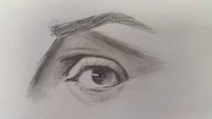 Sketch of an eye by remssah5