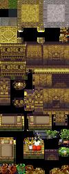 Aztec Interior Tileset by bluebooth
