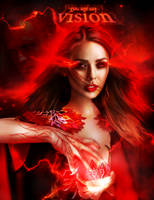 you are my vision | Scarlet Witch Vision by bxromance