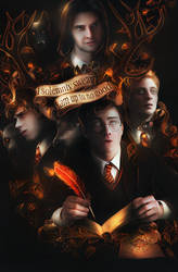 Marauders | Harry Potter AU by bxromance