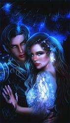 Starfall | Rhys and Feyre by bxromance