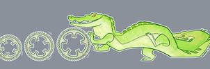 Chainrings croc by iktis