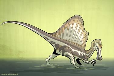 Spinosaurus by iktis