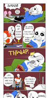 The Sock Talk (Undertale Comic) by Tyl95