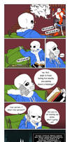 Just Leave a Message (Undertale Comic) by Tyl95