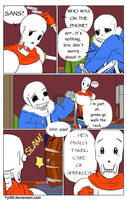 A Sprinkle of a Lie (Undertale Comic) by Tyl95