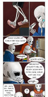 Lies and Covers (Undertale Comic) by Tyl95