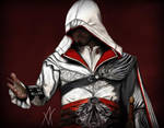 Assassin's Creed Ezio Auditore by ArtOfI-Icy