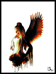 Ink Angel by Baxy77