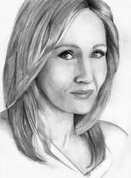 J.K.Rowling by Niruh