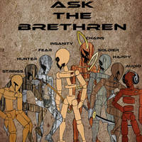 ASK THE BRETHREN I.D. POSTER by RUROKENROX