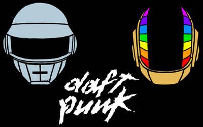 Daft Punk: Running Access Memories wallpaper by RUROKENROX