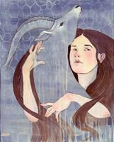 Gazelle Ghost by lauren-moyer
