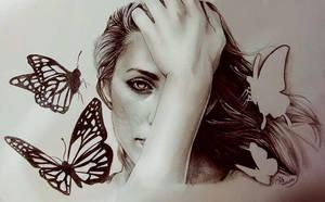 Cristina by JulietGarciaArt