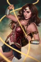 Wonder Woman by JulietGarciaArt