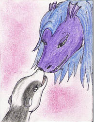 ACEO Dragea and Rados by Dragea