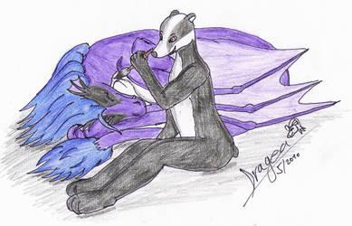 Vymalovani dracice :D by Dragea