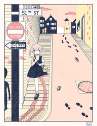 Walking home by noellemonade