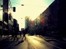 City Life by Krankenhauswagen