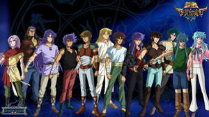 Gold Saints Saint Seiya Soul Of Gold by AntaresHeart07