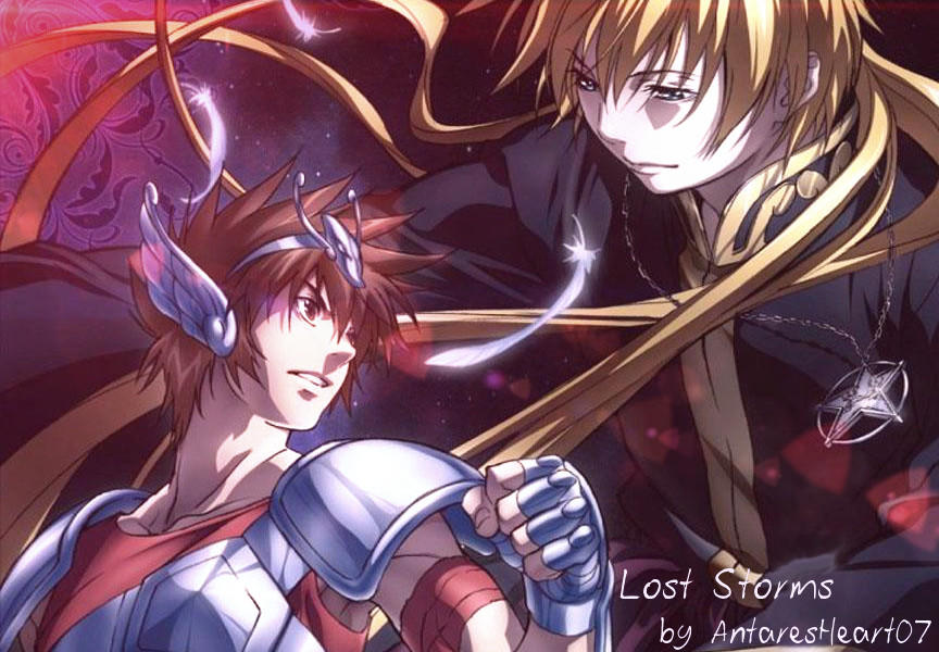 Lost Storms (Saint Seiya The Lost Canvas Banner) by AntaresHeart07