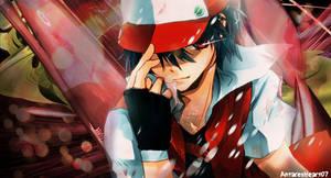 Pokemon Red Banner by AntaresHeart07