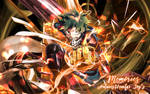 Deku Banner (Boku No Hero Academia) by AntaresHeart07