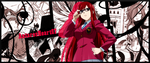 Erza Scarlet Banner Fairy Tail by AntaresHeart07