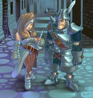 Steiner and Beatrix by EmperorAtma