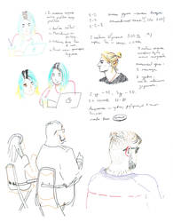 Rocketbank Sketches by Koariko