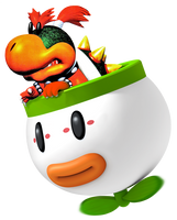 Baby Bowser (SSB4 Bowser Jr. alt costume idea) by Kirbysmith