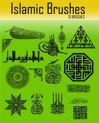 Islamic Brushes-by archnoph... by Arabdesign