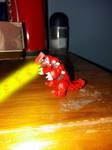 Groudon figure hyper beam by Animedalek1