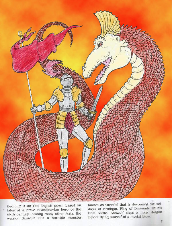 beowulf slays the dragon