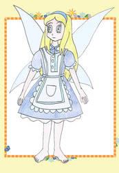 Floria as Alice by Animedalek1