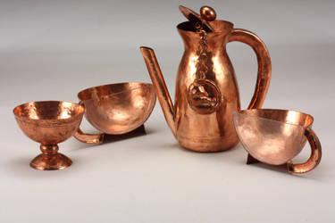A Mad Tea-Set by IncompleteMetalsmith