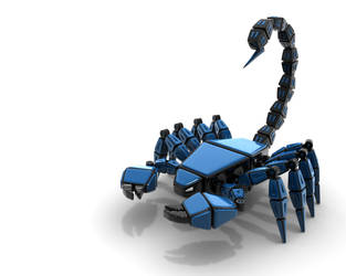ScorpionMechBeast by HolgerL