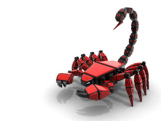 MechBeast: Red Scorpion by HolgerL