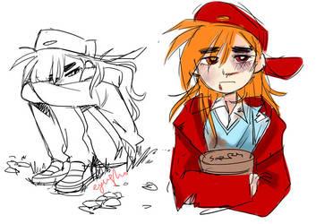 Brick sketch_01 by eyugho