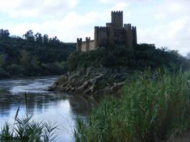 Almourol Castle Portugal by colin6969