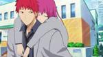Kuroko no Basuke OC (Akashi and Shirotami) by Yukaishironeko