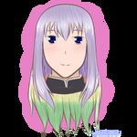 Colourful  hair [Request] by Yukaishironeko